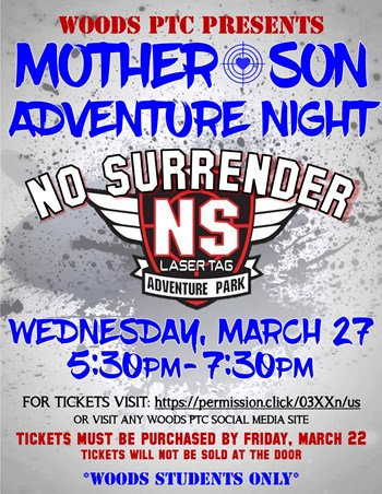 Mother-Son Adventure Night Flyer