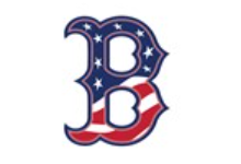BHS Logo - The letter B with the United States Flag as its' fill.