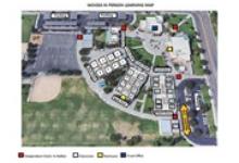 Map of Woods Elementary School
