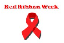 "Red Ribbon with text, ""Red Ribbon Week"""