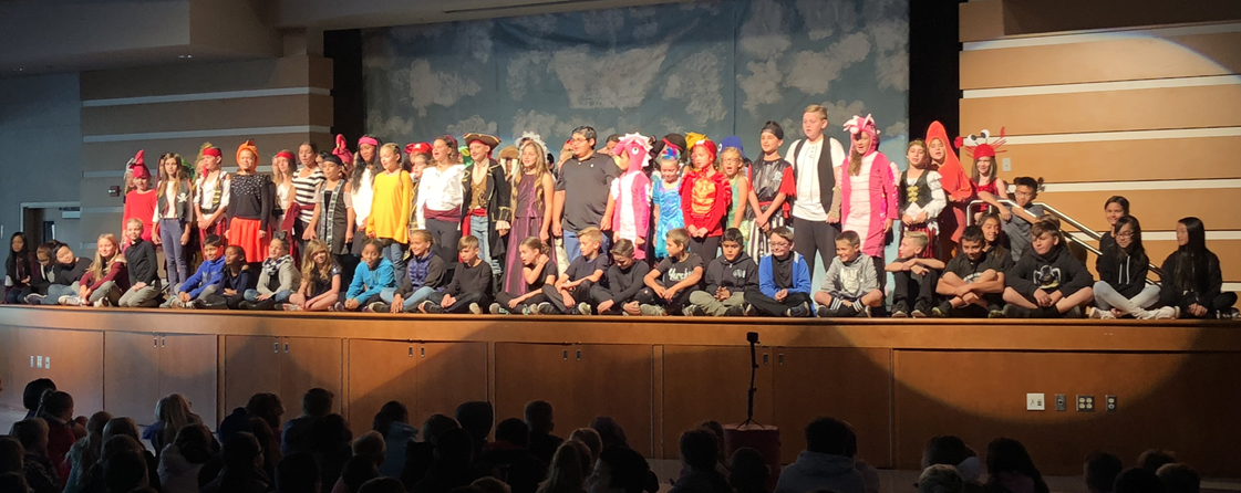 Cast and Crew of School Play