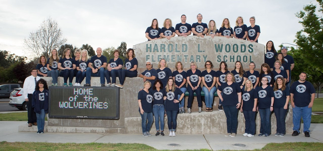 Photo of the 2017-2018 Woods Elementary Faculty