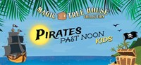 Magic Treehouse's: Pirates Past Noon Beach Setting with Pirate Ship